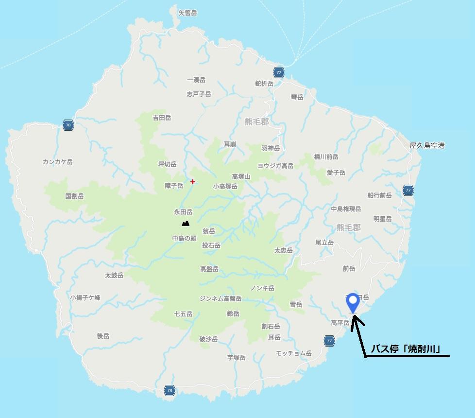 屋久島 地図